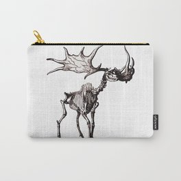 Irish Elk Skeleton Carry-All Pouch