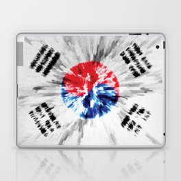 Extruded flag of South Korea Laptop & iPad Skin