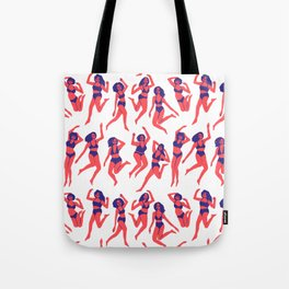 Underwear Dancing Tote Bag