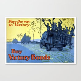Pave The Way To Victory Canvas Print