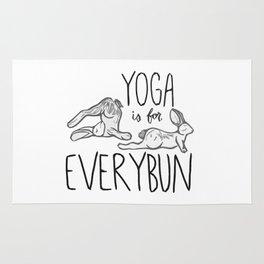 Yoga is for Everybun Rug