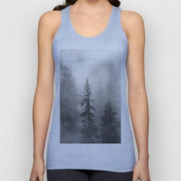 Forest In The Clouds - Nature Photography Unisex Tank Top