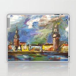 Stormy, Stormy Night ... In Rīga, Latvia Laptop & iPad Skin