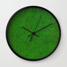 Gusanos Wall Clock