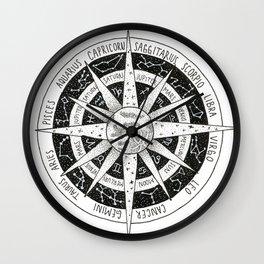 zodiac signs Wall Clock