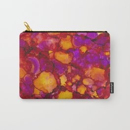 Happy spring - Alcohol ink drawing Carry-All Pouch