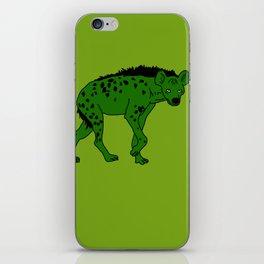 The aberrant hyena iPhone Skin