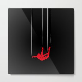 FS Collection - SkyDiving Metal Print