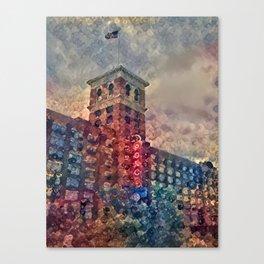 Ponce Dream Spirals Canvas Print