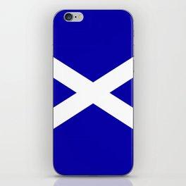 Scottish Flag iPhone Skin
