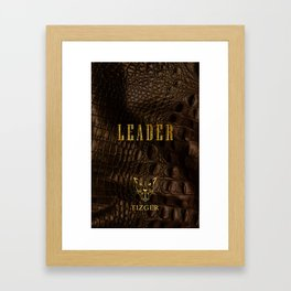 LEADER PHONE CASE Framed Art Print