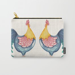 Gala Rooster Carry-All Pouch