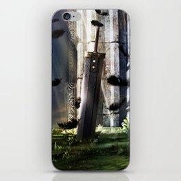 A Hero's sword iPhone Skin