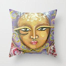 Magical Muse Throw Pillow