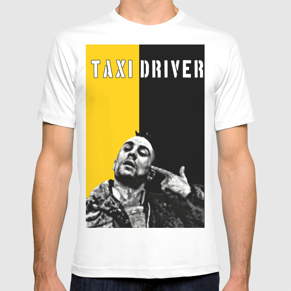 Travis Bickle Taxi Driver T-shirt by Maximgarg TSR1774972