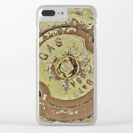 Cooking with Gas Clear iPhone Case