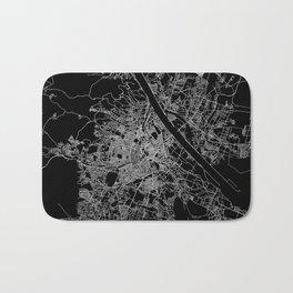 Vienna map Bath Mat