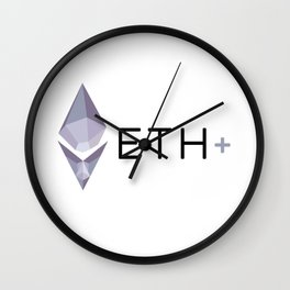 ETH PLUS Wall Clock