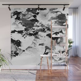 Blk Marble Wall Mural