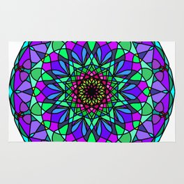 colorful decorative in trendy colors Rug
