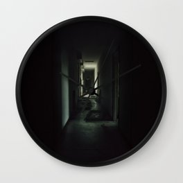 Dark path Wall Clock