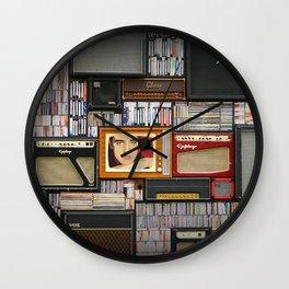 Vinyl records Wall Clock