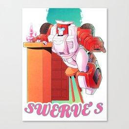 Swerve's Canvas Print