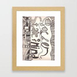 Golden State Of Mind Framed Art Print
