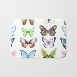 Butterfly Pattern 05 Bath Mat