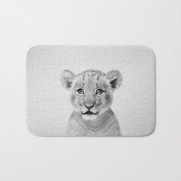 Baby Lion - Black & White Bath Mat