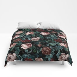 EXOTIC GARDEN - NIGHT XV Comforters