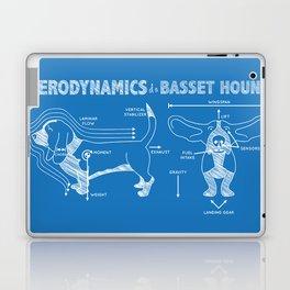 The Aerodynamics of a Basset Hound Laptop & iPad Skin