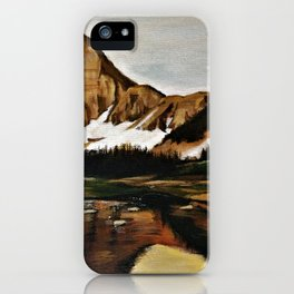 lakefront views iPhone Case