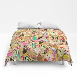 Decoupage Unicorns Comforters