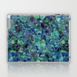 Blue And Green Stained Glas Laptop & iPad Skin