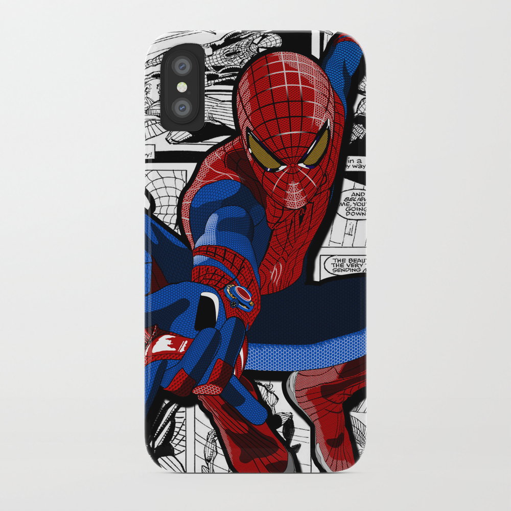 Spider-man Comic Phone Case by Crhodes23 PCS681773