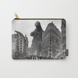Old Time Godzilla in San Francisco Carry-All Pouch