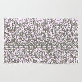 sun floral paisley monochrome Rug