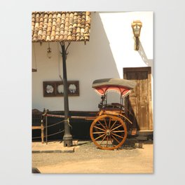 Sri Lanka, Galle - Old Rickshaw Canvas Print