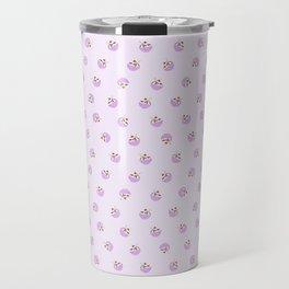 Dancing Fudge Sundaes in Purple Travel Mug