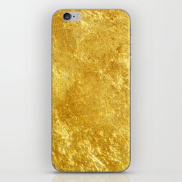 Golden Texture #lifestyle #society6 iPhone Skin