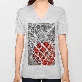 Basketball Art Unisex V-Neck