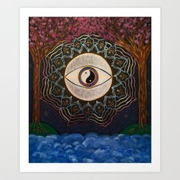 Cosmically entwined*~ Art Print