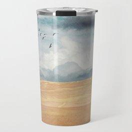 Where Land Meets Sky Travel Mug