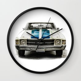 CLASSIC CAR LOVE Wall Clock
