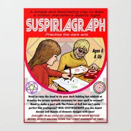 Suspiriagraph Canvas Print