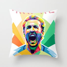 Harry Kane World Cup 2018 Edition Throw Pillow