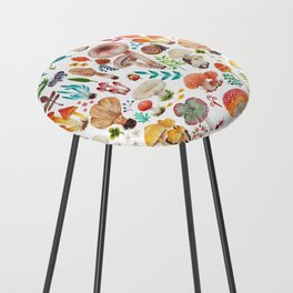 Mushroom heart Counter Stool
