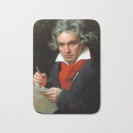 Ludwig van Beethoven (1770-1827) by Joseph Karl Stieler, 1820 Bath Mat