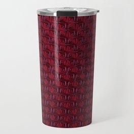 Metallic red Travel Mug